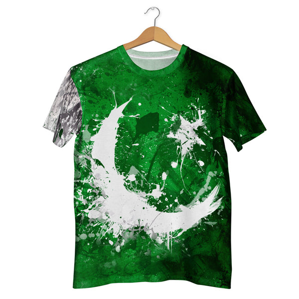 Pakistan Flag Splash