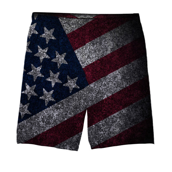 USA Vintage Flag Shorts