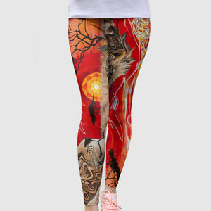Red Tights Lion jungle