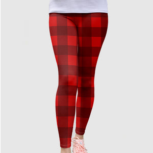 Checkered Red Pattern