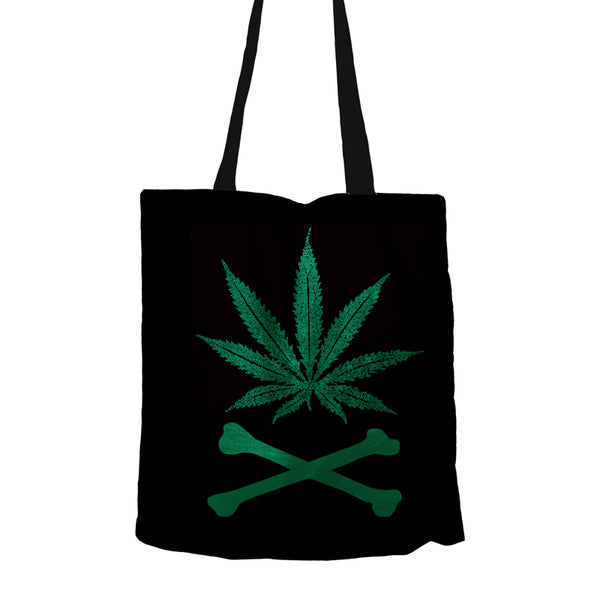 Weed With Bones Tote Bag