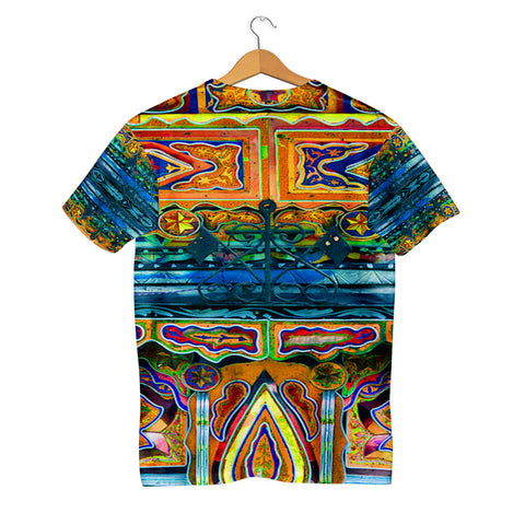 Truck Art folk art pattern T-shirt