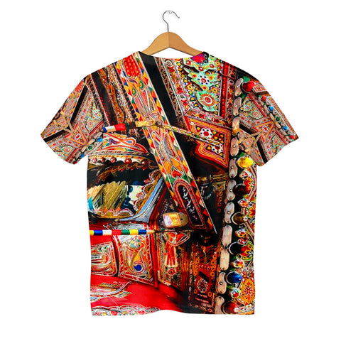 Truck Art with truk front pattern T-shirt