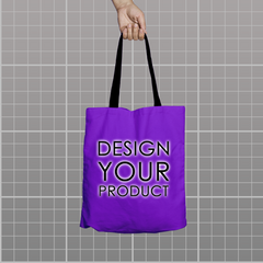 Custom Tote Bag - Voilet - zakeke-design