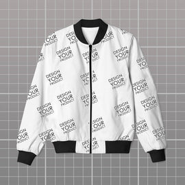 All Over Bomber Jacket