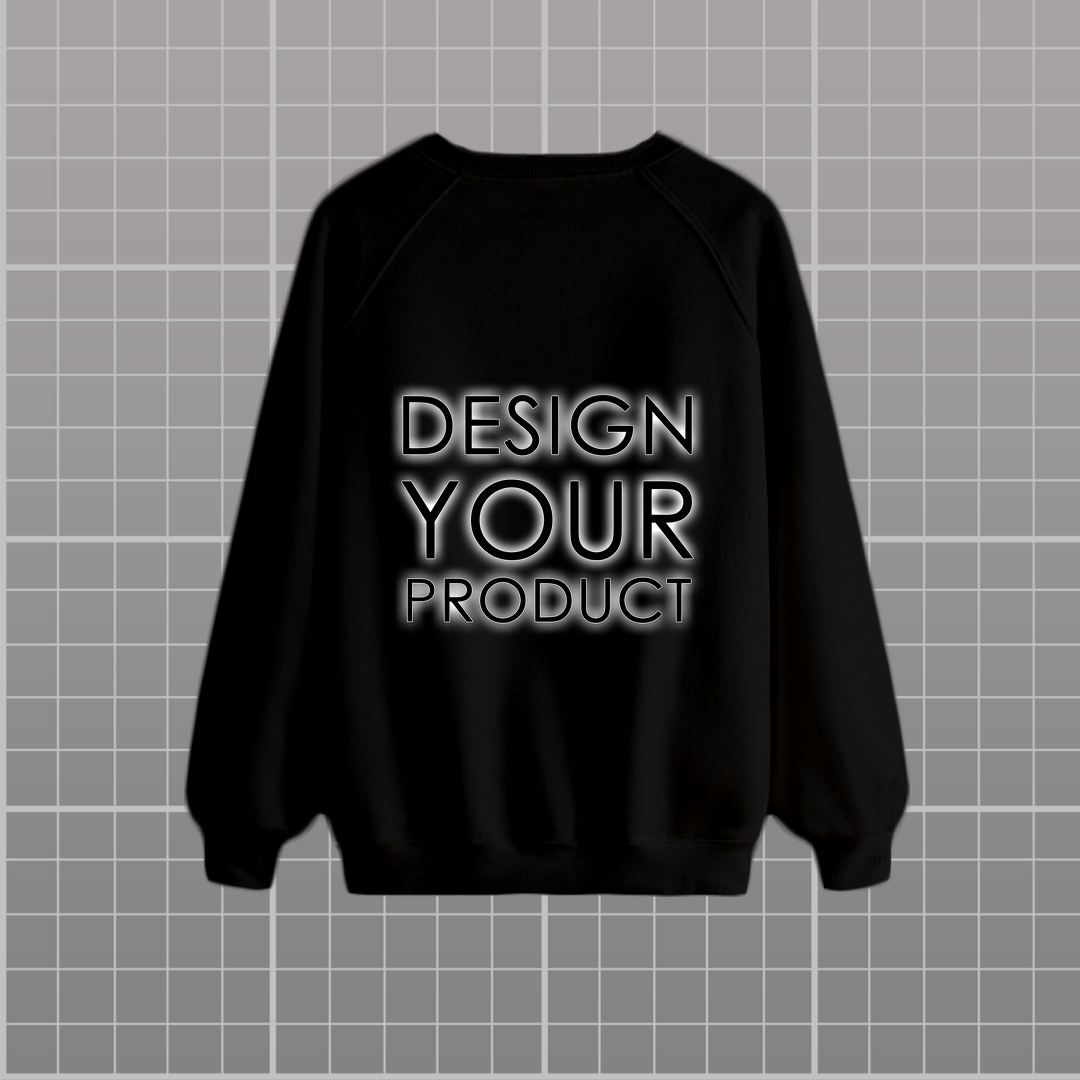 Graphic printed Sweat Shirt - Black / S - zakeke-design