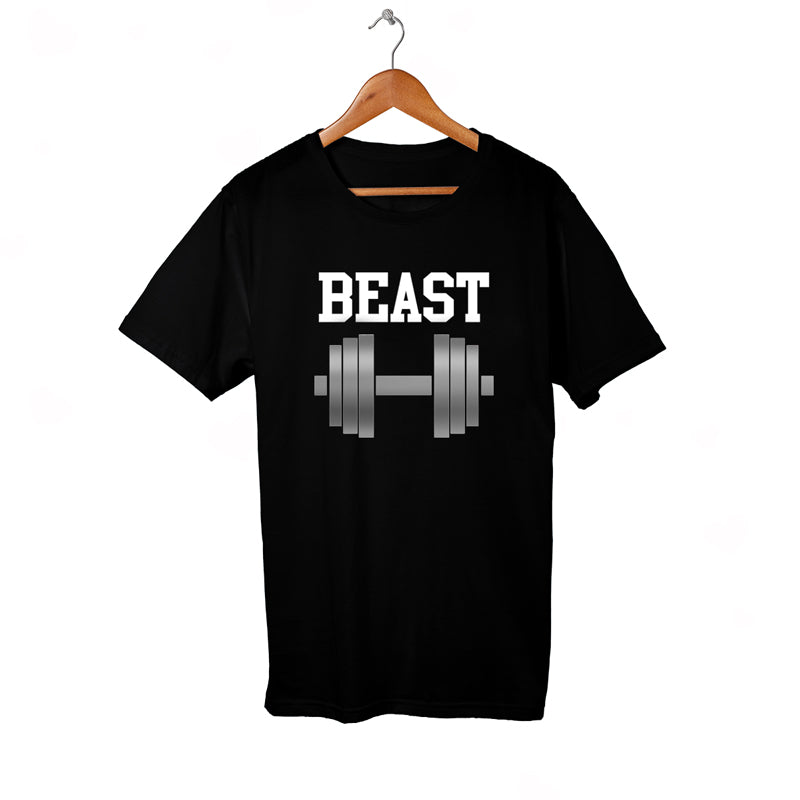 BEAST black shirt with Dumble