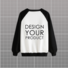 Front Digital Printed Sweat Shirt - Black / S - zakeke-design