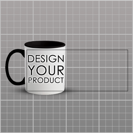 Custom Mug - Black - zakeke-design