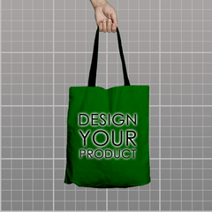 Custom Tote Bag - Dark Green - zakeke-design