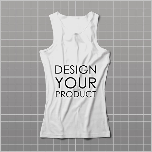 Cotton Graphic Printed Tank Top Women