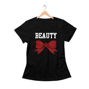 Beauty shirt with Glitter Bow