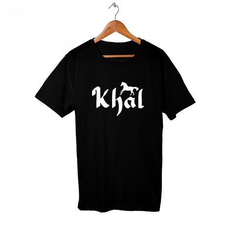 Khal T-Shirt for Him in Black