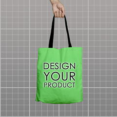 Custom Tote Bag - Light Green - zakeke-design
