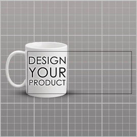 Custom Mug - White - zakeke-design