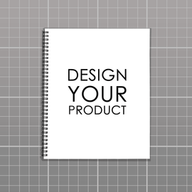Custom Notebook A4 - zakeke-design