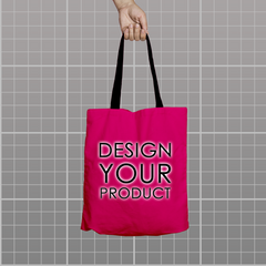 Custom Tote Bag - Pink - zakeke-design