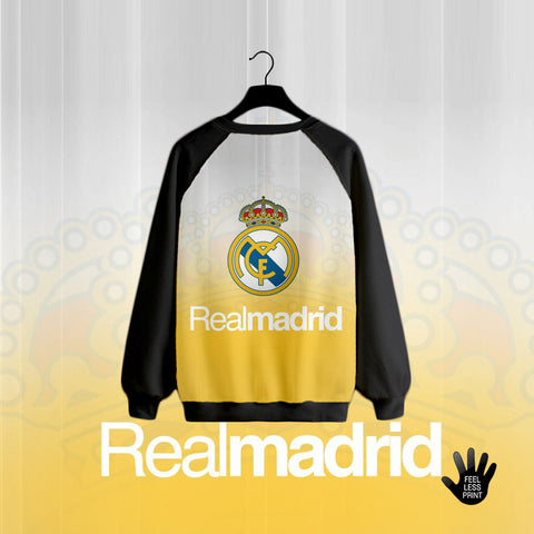 Realmadrid logo in yellow shade