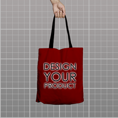 Custom Tote Bag - Red - zakeke-design