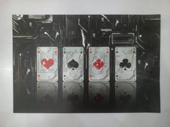 3D Playing Card Background