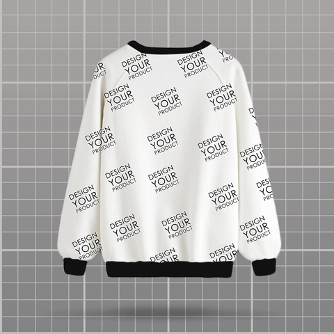 All Over Printed Sweat Shirt