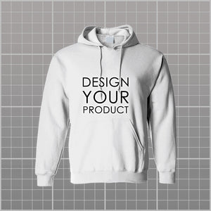 Graphic Printed Hoodie Non-Zipper