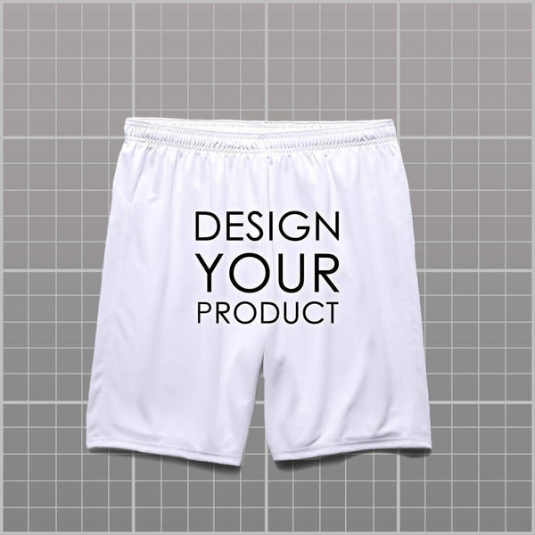 Cotton Graphic Printed Shorts - zakeke-design