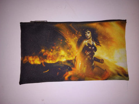 Wonder Woman in Fire