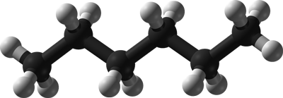 Hexane Molecule Graphic