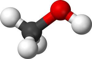 Methanol Molecule Graphic