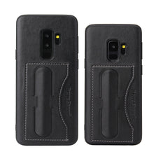 Samsung Galaxy S9 Plus Leather Card Wallet Kickstand Case - Aces Wireless