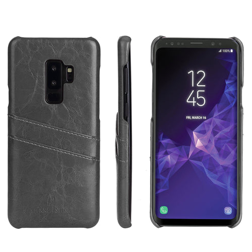 Samsung Galaxy S9 Premium Leather Card Wallet - Aces Wireless