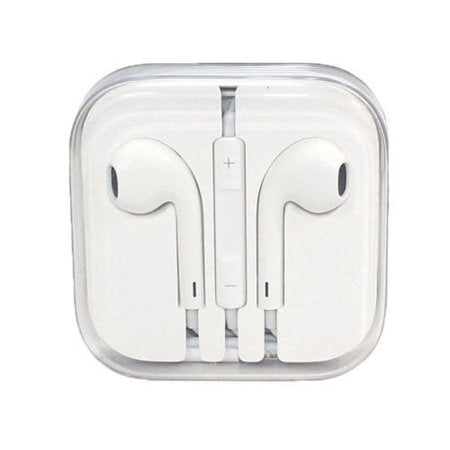 Apple iPhone 5/6/6s/6 plus Earpods OEM Original Stereo Headphones w/ Inline Control - Aces Wireless