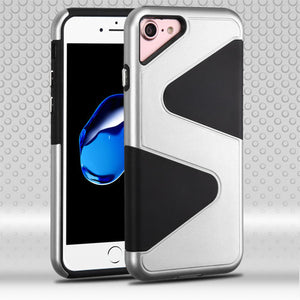 Best iPhone 8/7/6/6S Silver Rugged Thin and Lightweight Top Seller - Aces Wireless