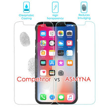 iPhone X  Best Tempered Glass Screen Protector Top Seller Screen Protector Anti Shatter - Aces Wireless