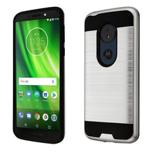 Moto G6 Play dual layered brushed hybrid case - Aces Wireless
