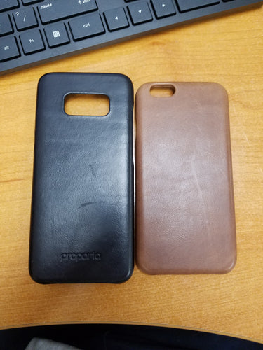 Aces Wireless Leather Case -Brown