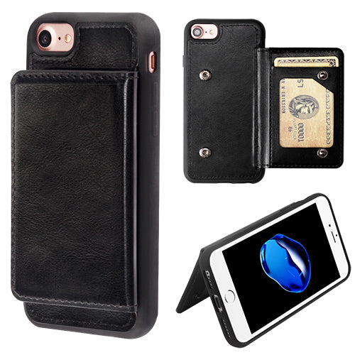 iPhone  8/7/6/6s Flip Snap-On Wallet Case - Aces Wireless