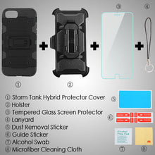 iPhone 8/7/6/6s 3-in-1 Case Tempered Glass Kickstand Top Seller - Aces Wireless