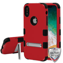 iPhone X  Tuff Case Kickstand Military Standard Top Seller - Aces Wireless