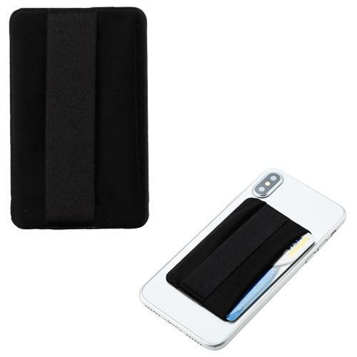 Adhesive Card Pouch with Horizontal Wallet For Smartphones - Aces Wireless