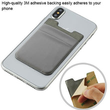 Adhesive Card Pouch Wallet Double- Layer - Aces Wireless