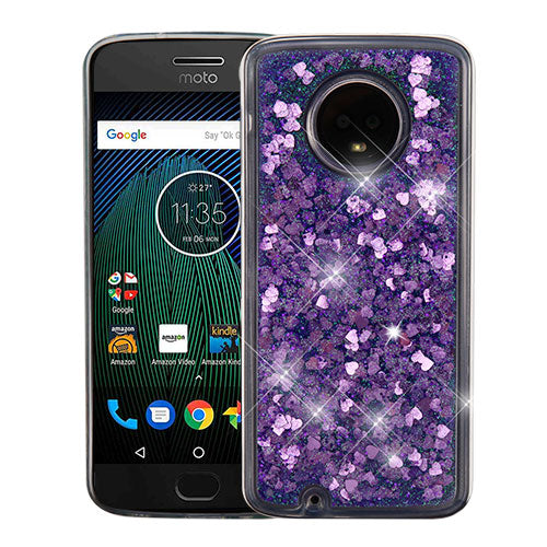 Moto G6 quicksand glitter case - Aces Wireless