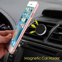 Silver Electroplating Magnetic Car Air Vent Mount Holder - Aces Wireless