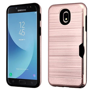 Samsung J7 2018 Refine/Star/Aero Shock Absorbent Wallet Case - Aces Wireless