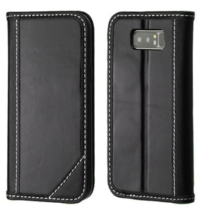 Best Samsung Galaxy Note 8 Genuine Leather Case Top Seller - Aces Wireless