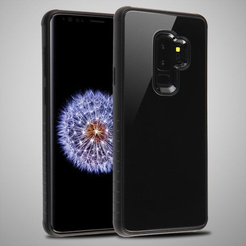 Samsung Galaxy S9 Plus Tempered Glass Fusion Protector Cover, Scratch Resistant - Aces Wireless