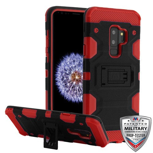 Samsung Galaxy s9 Storm Tank Case Kickstand Military-Grade - Aces Wireless
