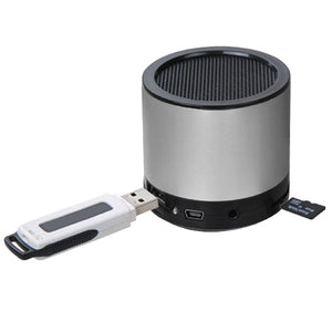 Silver Mobile Speaker - Aces Wireless