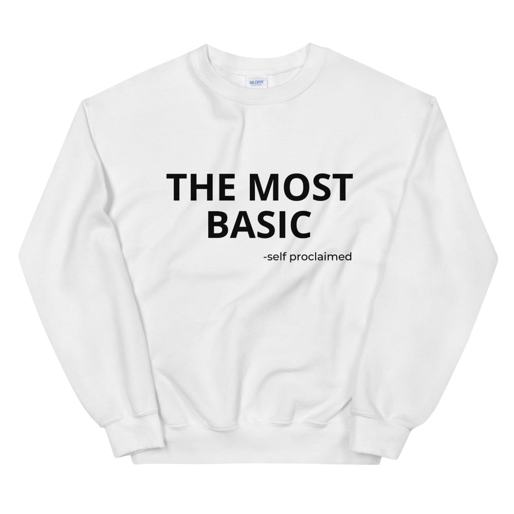 THE MOST BASIC SWEATIE